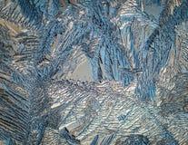 Finestra congelata Fotografia Stock Libera da Diritti
