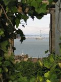 Finestra da Alcatraz Immagine Stock