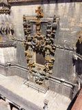 Finestra del castello fotografie stock libere da diritti