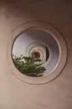 Finestra del cerchio Fotografia Stock Libera da Diritti