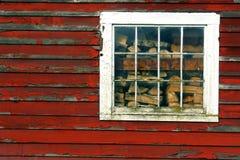 Finestra del granaio Fotografia Stock
