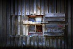 Finestra del granaio Fotografie Stock