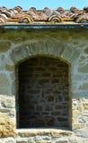 Finestra del monastero Immagine Stock