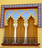 Finestra del Moorish - Cordova Fotografia Stock