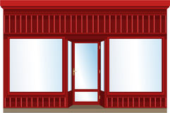 Finestra del negozio Immagini Stock