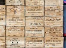 Finestra del negozio del negozio di alcolici fotografie stock