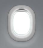 Finestra dell'aeroplano o del getto Immagine Stock Libera da Diritti