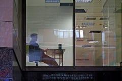 Finestra dell'ufficio. Fotografie Stock Libere da Diritti