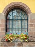 Finestra della Camera a Colmar, Francia Immagine Stock Libera da Diritti