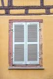 Finestra della Camera a Colmar, Francia Fotografia Stock Libera da Diritti