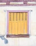 Finestra della Camera a Colmar, Francia Fotografia Stock