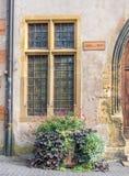 Finestra della Camera a Colmar, Francia Immagini Stock
