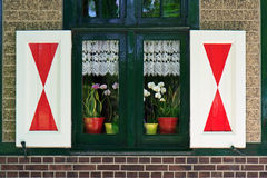 Finestra della casa di campagna Immagini Stock Libere da Diritti