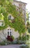 Finestra della casa francese L'ovest della Francia, costruente Fotografie Stock