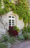 Finestra della casa francese L'ovest della Francia, costruente Immagini Stock