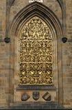 Finestra della cattedrale della st Vitus Immagine Stock Libera da Diritti