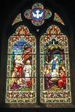 Finestra della chiesa. Fotografia Stock