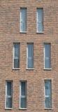 Finestra della facciata fotografie stock