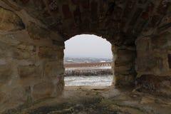 Finestra della fortezza Fotografia Stock