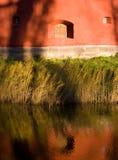 Finestra della fortezza Fotografie Stock