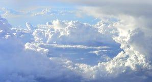 Finestra della nuvola immagine stock libera da diritti