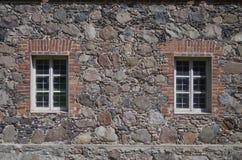 Finestra della parete Fotografia Stock