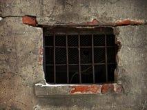 Finestra della prigione Immagine Stock