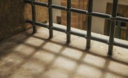 Finestra della prigione Fotografia Stock