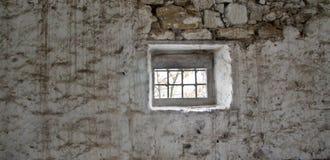 Finestra della prigione Fotografia Stock Libera da Diritti