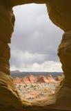 Finestra della roccia Immagini Stock Libere da Diritti