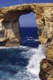 Finestra della roccia Fotografia Stock
