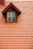 finestra della soffitta Fotografia Stock Libera da Diritti