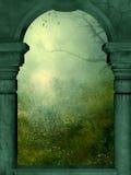 Finestra della sorgente Immagini Stock
