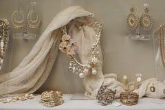 Finestra della stanza della sfilata di moda Immagini Stock Libere da Diritti