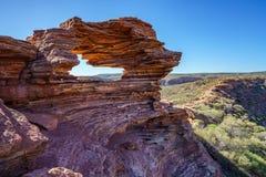 Finestra delle nature nel parco nazionale di kalbarri, Australia occidentale 9 fotografie stock