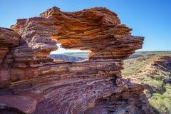 Finestra delle nature nel parco nazionale di kalbarri, Australia occidentale 10 fotografia stock libera da diritti