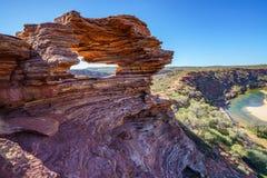 Finestra delle nature nel parco nazionale di kalbarri, Australia occidentale 11 immagine stock libera da diritti