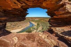 Finestra delle nature nel parco nazionale di kalbarri, Australia occidentale 12 fotografia stock
