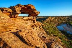 Finestra delle nature nel parco nazionale di kalbarri, Australia occidentale 4 fotografie stock