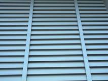 Finestra di alluminio Fotografie Stock Libere da Diritti