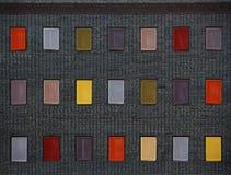finestra di colore Fotografie Stock