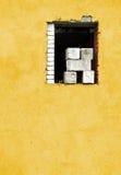Finestra di costruzione Immagini Stock Libere da Diritti