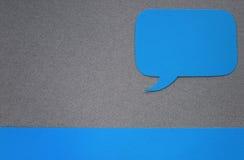 Finestra di dialogo Immagini Stock