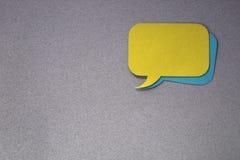 Finestra di dialogo Fotografia Stock Libera da Diritti