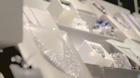 Finestra di gioielleria archivi video