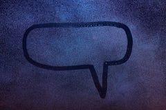 Finestra di messaggio di dialogo immagini stock