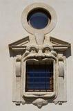 Finestra di Palazzo Zuccari, Roma Fotografia Stock