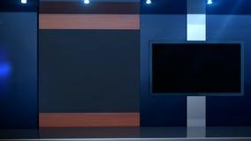 Finestra di schermo dello studio stock footage