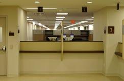 Finestra di servizio di assistenza al cliente Immagini Stock Libere da Diritti