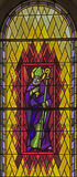 Finestra di Stained-glass 106 Fotografia Stock Libera da Diritti